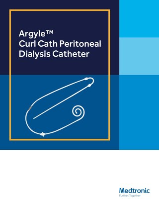 Argyle™ Curl Cath Peritoneal Dialysis Catheter