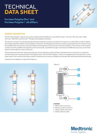 Forclean Polyphe Plus™ and Forclean Polyphe i™ ultrafilters