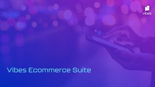 Vibes Ecommerce Suite