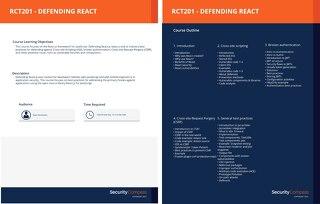 RCT201 - Defending React
