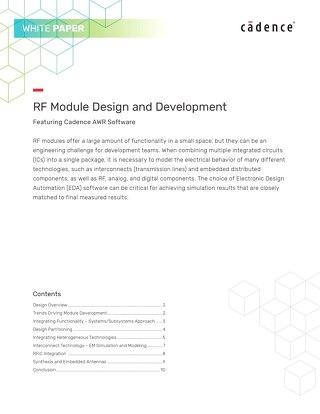 RF Module Design and Development