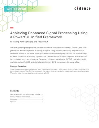 Achieving Enhanced Signal Processing Using a Powerful Unified Framework