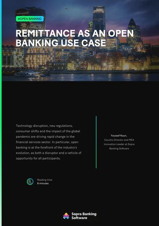 Remittance as an open banking use case