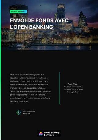 Envoi de fonds avec l'Open Banking
