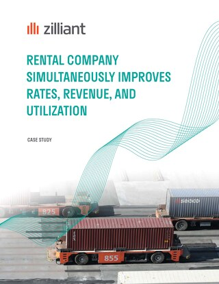 Rental Company Simultaneously Improves Rates, Revenue, and Utilization