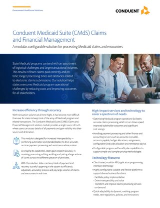 CMdS Claims and Financial Solution