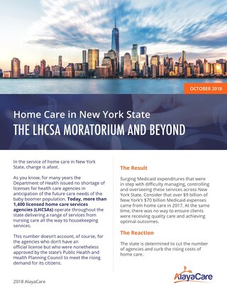 Home care in New York State