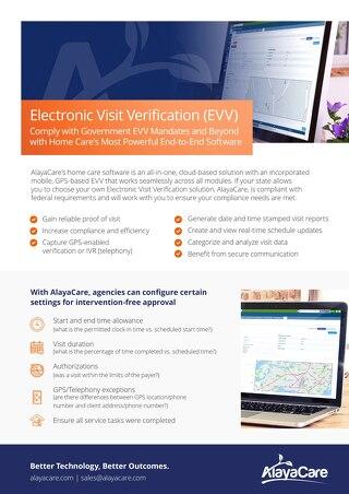 Electronic Visit Verification