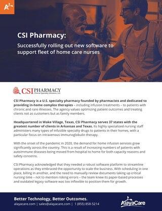 Case Study: CSI Pharmacy