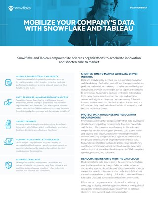 Mobilize Your Company's Data With Snowflake and Tableau