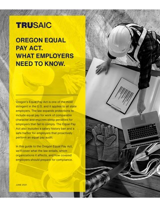 Oregon's Equal Pay Act White Paper
