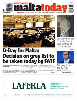 MaltaToday 23 June 2021 MIDWEEK