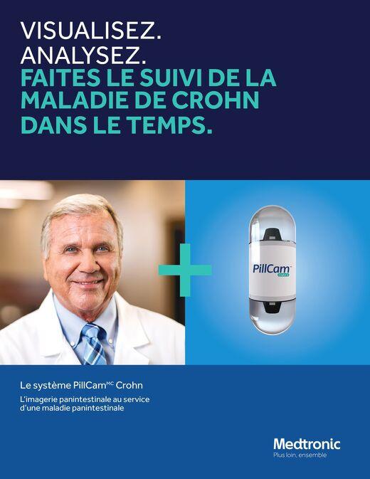 Le système PillCam Crohn