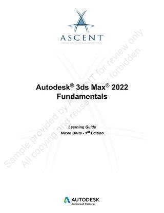 3ds Max: 2022 Fundamentals