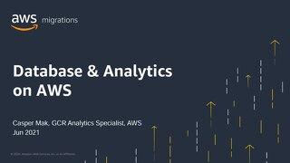 Database & Analytics on AWS (Slide)