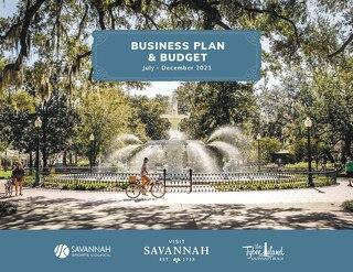 Visit Savannah July-December 2021 Business Plan