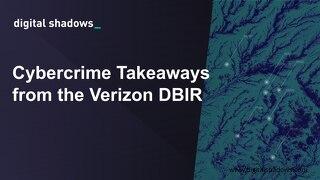 Verizon DBIR Webinar June - Slides