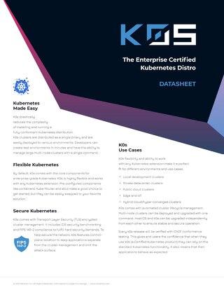 K0s Brochure