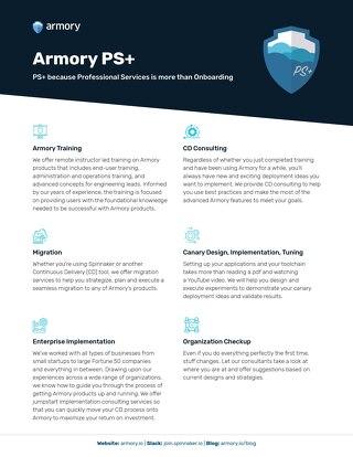 Armory PS+ Datasheet