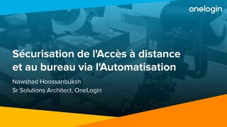 OneLogin: Remote Access with Automation, French