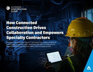 How Connected Construction Drives Collaboration and Empowers Specialty Contractors