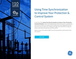 FAQ: Using Time Synchronization to Improve Your Protection & Control System
