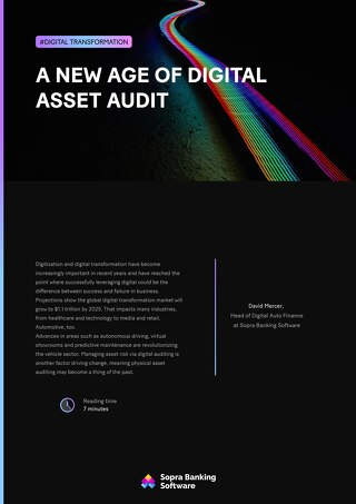 A new age of digital asset audit