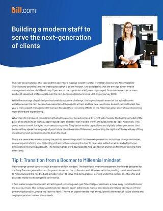 Building a Modern Staff