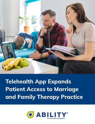 Telehealth App Expands Patient Access to Marriage and Family Therapy Practice