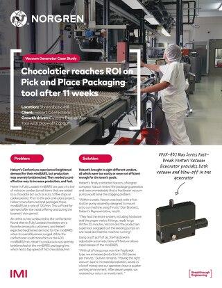 Norgren Vaccon Chocolatier Case Study