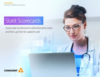Statit Scorecards: Automate burdensome administrative tasks and free up time for patient care
