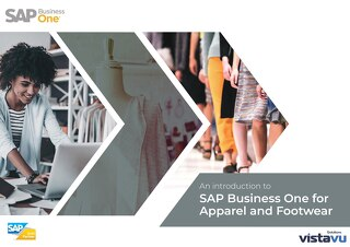 SAP Business One for Apparel and Footwear