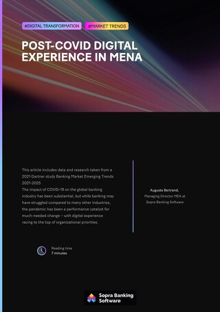 Post-COVID digital experience in MENA