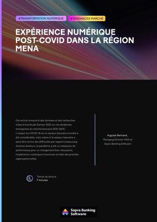 Expérience numérique post-COVID dans la région MENA