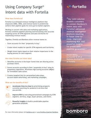 Fortella - Partner Information Sheet