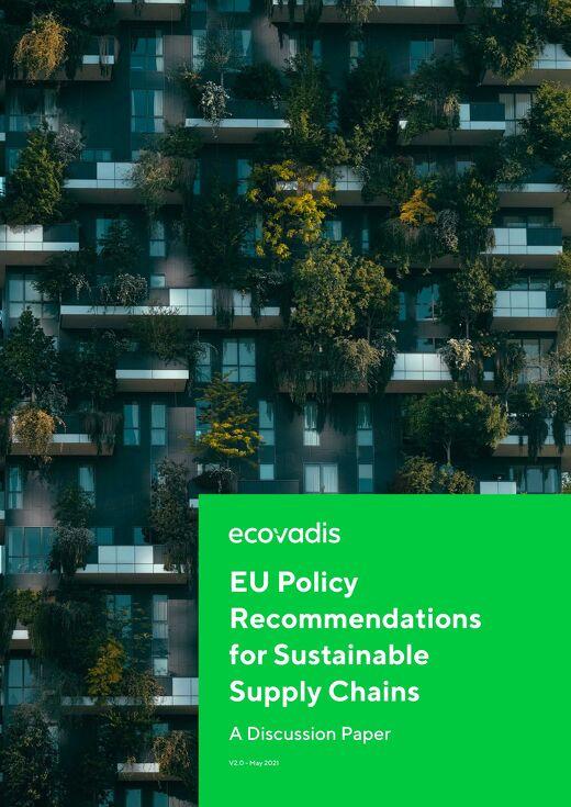 Recomendaciones legislativas de la UE para las cadenas de suministro sostenibles