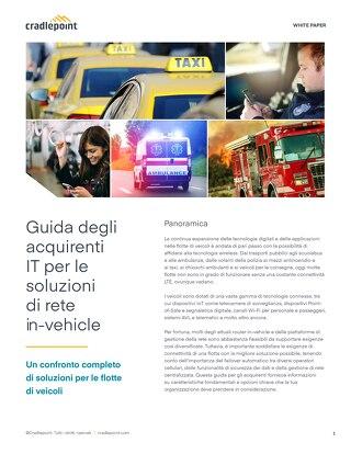 Guida IT alle soluzioni di rete a bordo dei veicoli