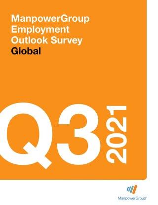 ManpowerGroup Employment Outlook Q3 2021