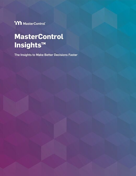 MasterControl Insights™ Overview