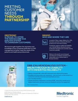 NIKKISO DBB-EXA DIALYSIS SYSTEM - Fact Sheet