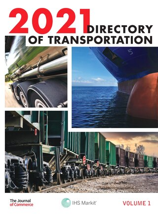 Directory of Transportation Volume 1, 2021
