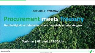 Präsentation aus dem Webinar Procurement meets Treasury