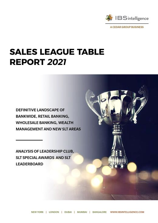 IBSI Sales League Table Report 2021