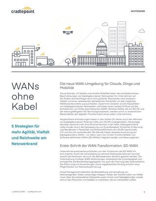 WAN Beyond Wires – German