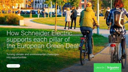 How Schneider Electric Supports the European Green Deal