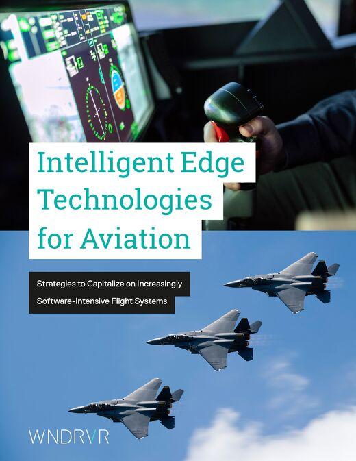 Intelligent Edge Technologies for Aviation