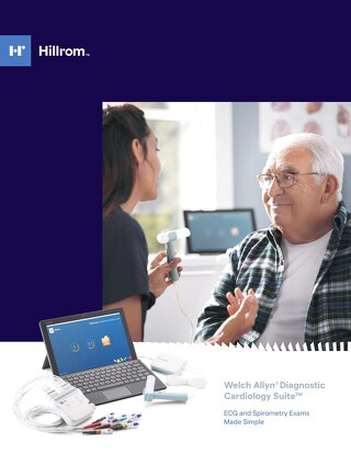 Welch Allyn® Diagnostic Cardiology Suite™