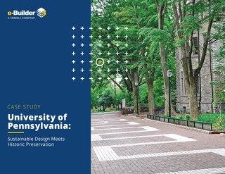 University of Pennsylvania Sustainable Design Meets Historic Preservation