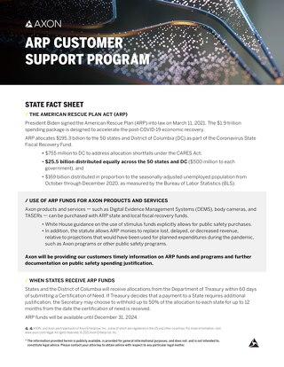 Axon_ARP_ State Fact Sheet