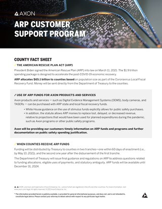 Axon_ARP_County Fact Sheet